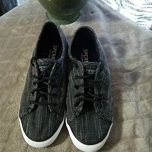 Glitter Sperry Sneakers